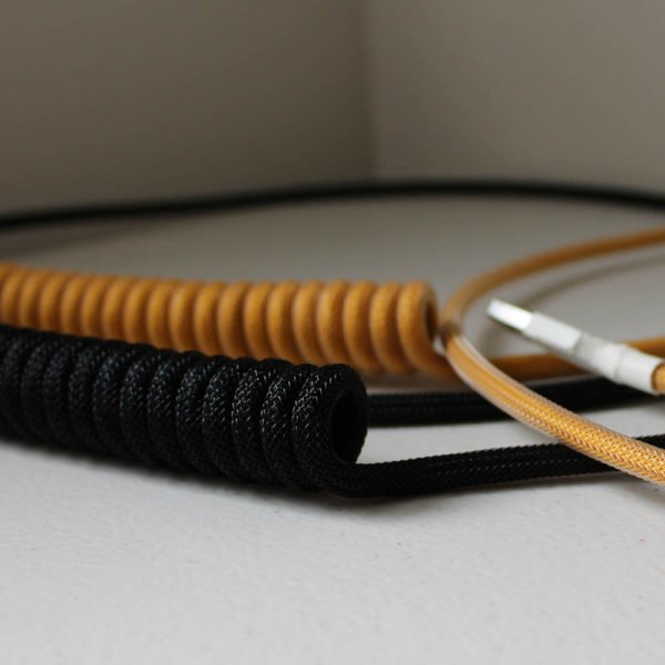 Custom, Coiled Mechanical Keyboard Cables | Click Clack Cables