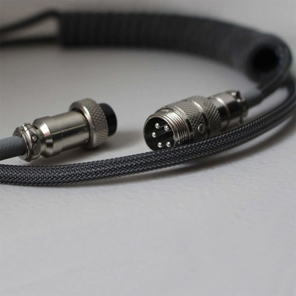 Custom Detachable Mechanical Keyboard Cable | Click Clack Cables